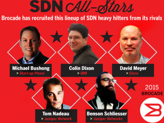 Why SDN all-stars are heading to Brocade
