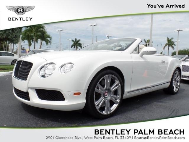 2014 Bentley Continental--GTC V8
