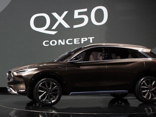 Infiniti QX50 Concept Video, First Look