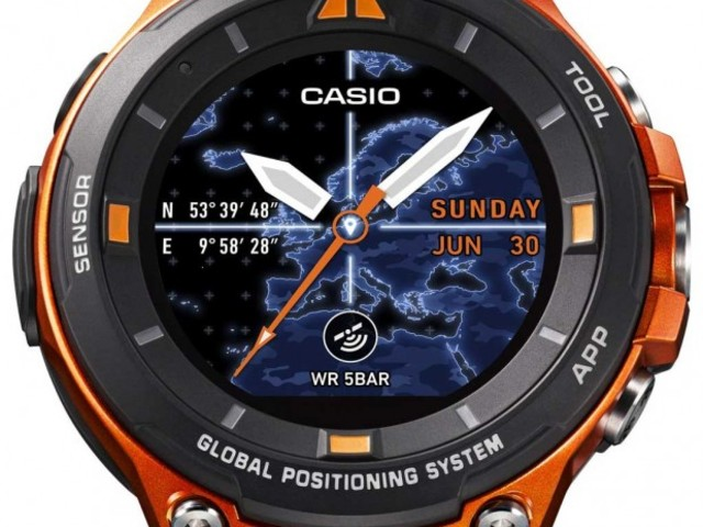 Casio's WSD-F20 Boasts Rugged Design, Android Wear 2