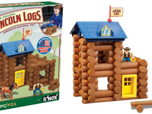 $18.50 (Reg $30) Lincoln Logs 83-Piece Set