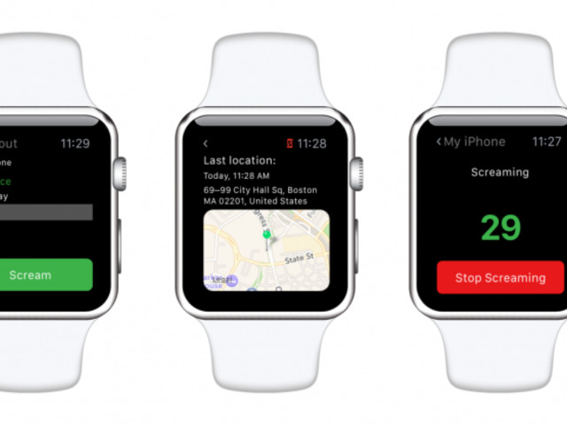Apple Watch 'Lookout' App Helps Users Find a Misplaced iPhone