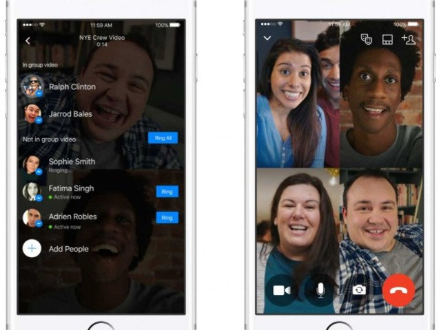 Facebook Messenger Gains Group Video Chats