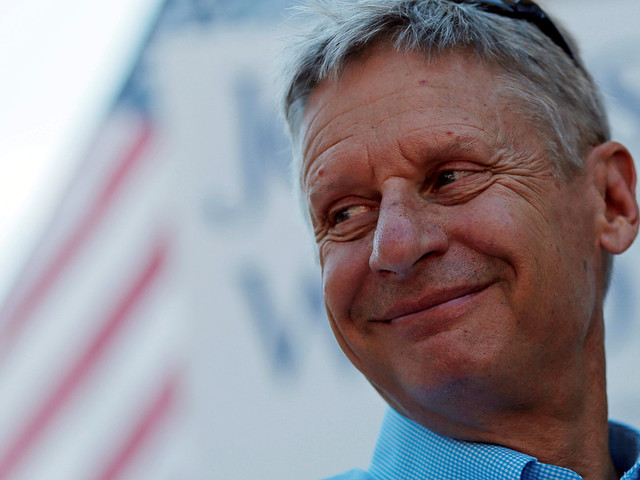 That Time Gary Johnson And George W. Bush Sorta High-Fived Over Not Knowing Stuff