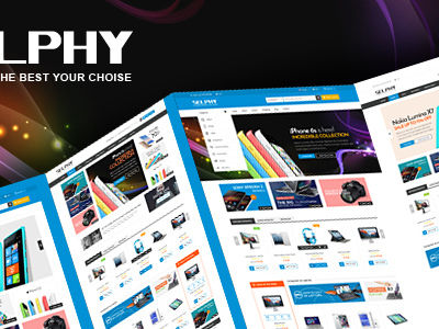 Selphy - Mega Shop Responsive Opencart Theme (Technology)