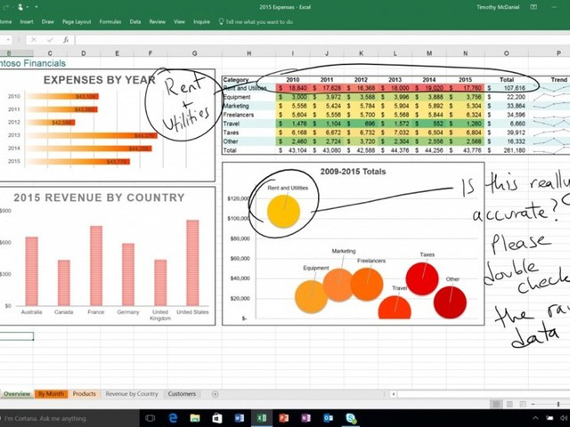 Microsoft Office Update Brings Drawing Tools for iPad, 3D Touch for iPhone 6s