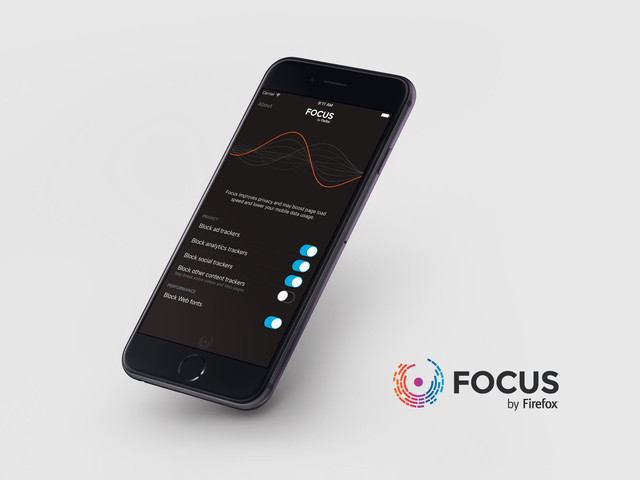 Focus by Firefox is a content blocker for Safari users on iOS 9