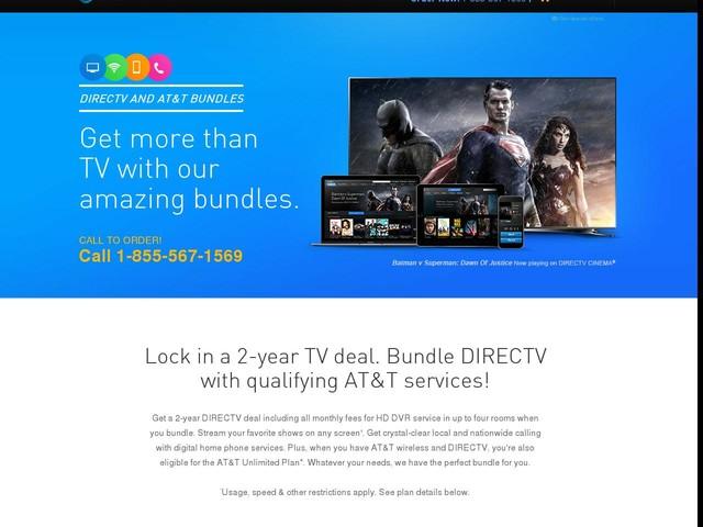 AT&T Internet & Phone Bundle with DIRECTV | 1-855-567-1569
