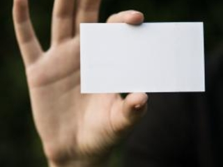 How to Make Your Business Card Sticky