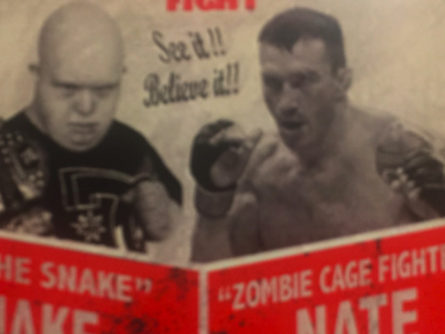 Video: Nate Quarry loses via sub to fighter with Down syndrome, Jake 'The Snake' Beckmann