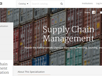 Rutgers launches new online course on Supply Chain Management Specialization