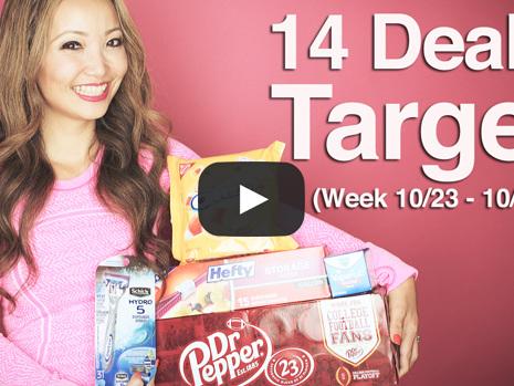 VIDEO: Target Coupon Deals & FREEBIES (Week 10/23-10/29)