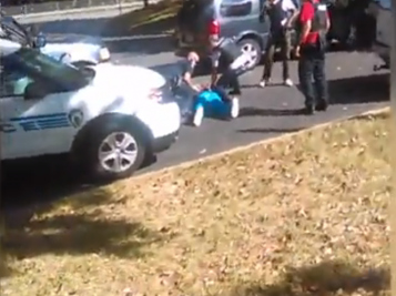 Video Surfaces From Keith Scott's Wife's Phone Of The Police Shooting, And It's Quite Telling + Cops Claim Gun Has Keith's Fingerprints & DNA