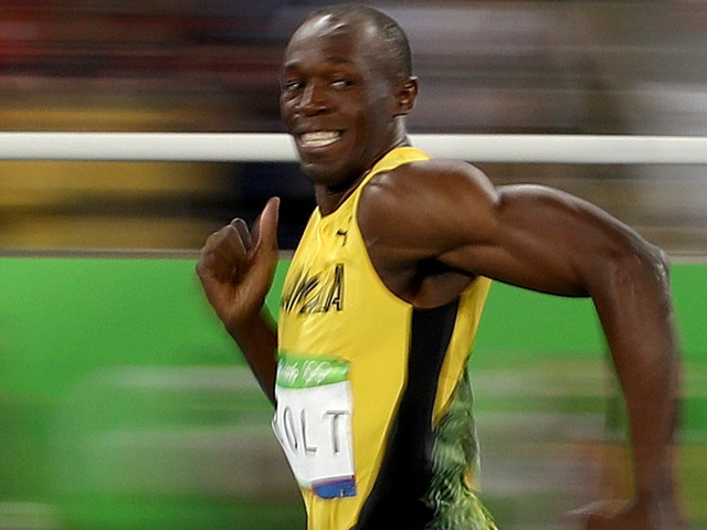 Usain Bolt's Smiling Face Is The Newest Olympic Internet Meme