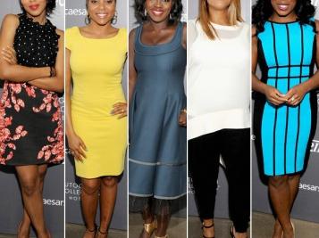 "Kerry Washington, Taraji P. Henson, Viola Davis, Queen Latifah, & Uzo Aduba Get GORGE For ""Variety Studio: Actors on Actors"" Emmy Edition Taping In L.A."