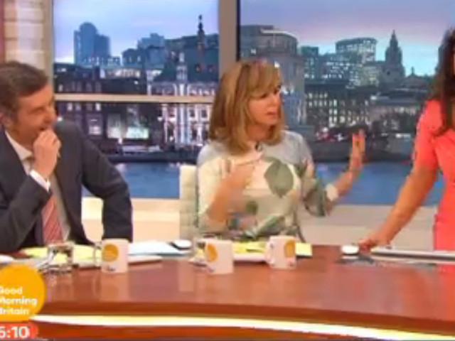 Susanna Reid Suffers Wardrobe Malfunction Live On 'Good Morning Britain'... But Handles It Like A True Pro (PICS)